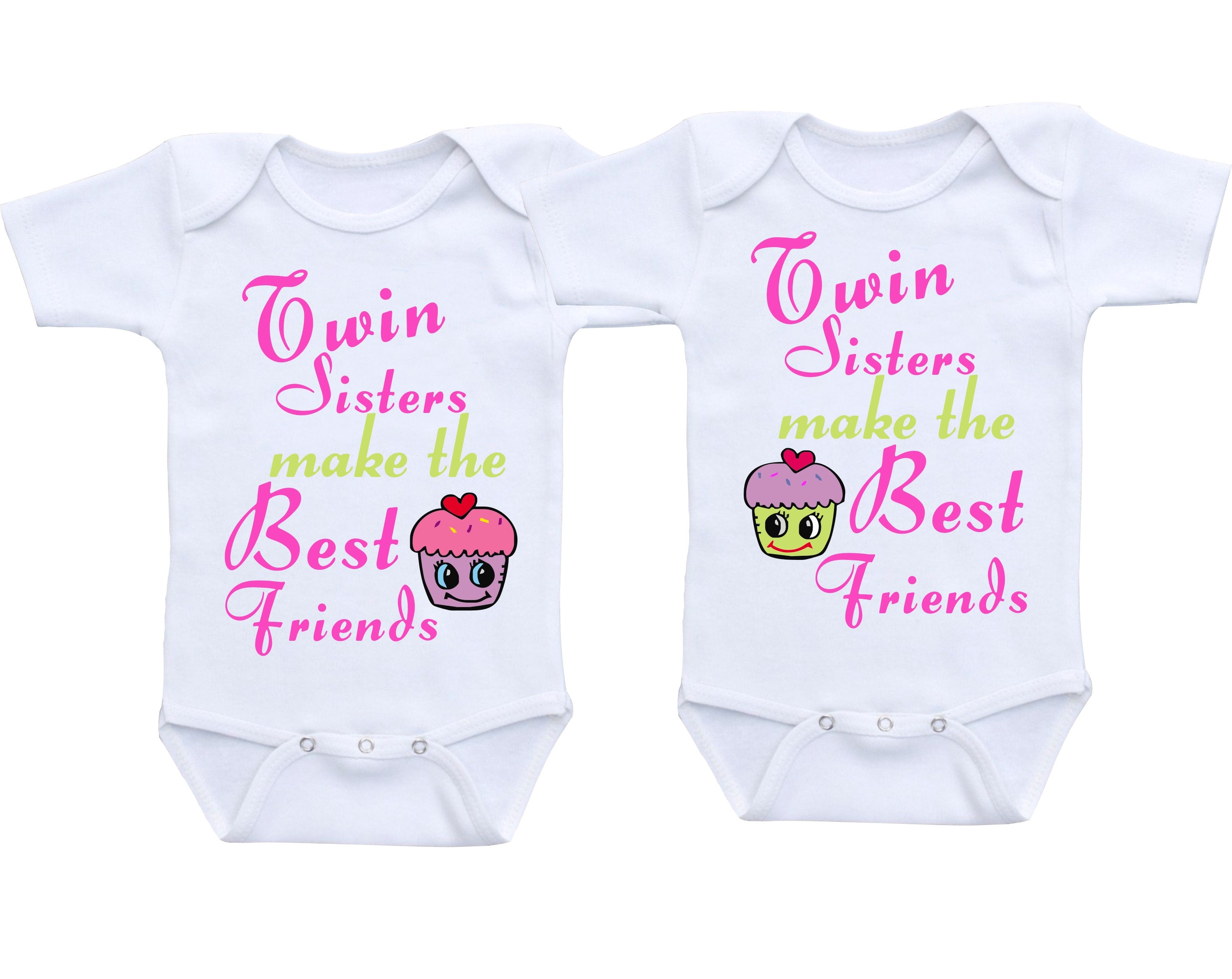 Twin Baby Clothes or Gerber Baby esies Cute Baby Clothes