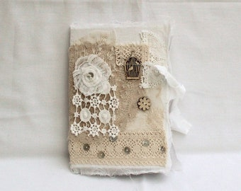 Small shabby notebook - A5