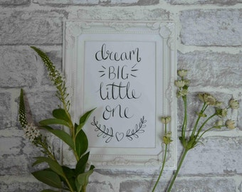 Nursery quote - 'Dream Big Little One'