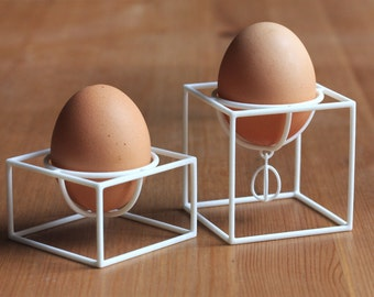 Cube egg cups (a set of two)