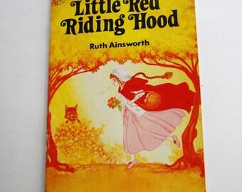 Vintage Children's Book, Little Red Riding Hood