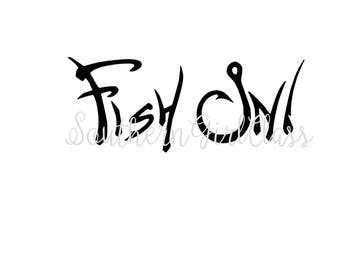 Fish On! Decal | Vinyl Decal | YETI | Car Decal | Window Decal | Cup Decal | Fishing Decal