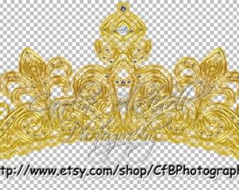 Princess crowns PNG files.