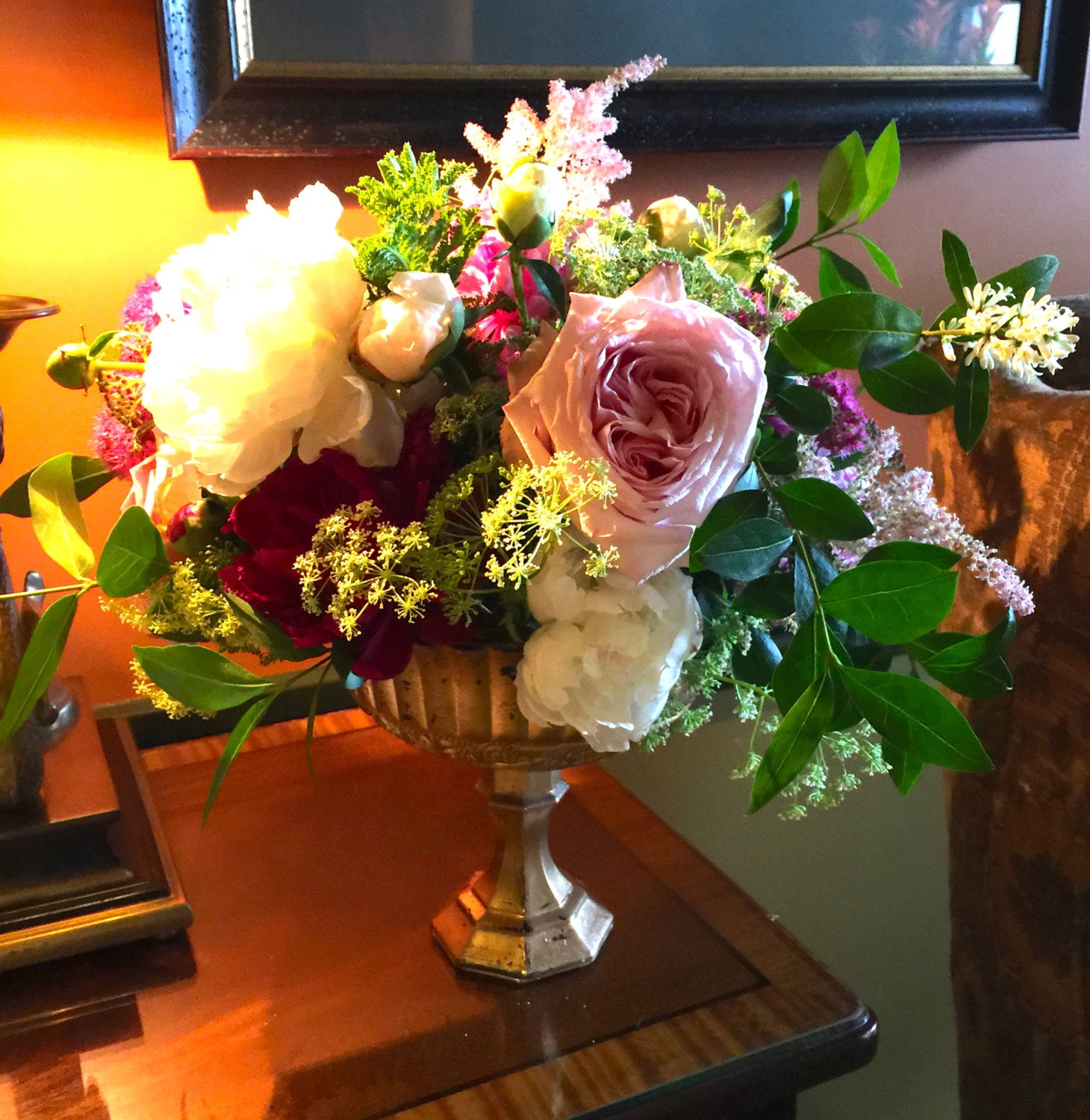 Beautiful footed vase weddings centerpiece centrepiece zoom floridaeventfo Image collections