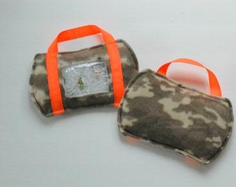 SALE Camo I Spy bag