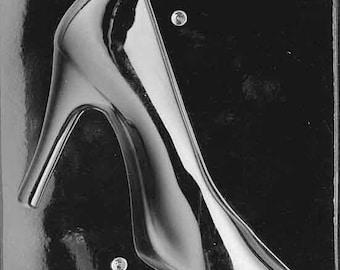 D55- 3D High Heeled Shoe Chocolate Mould - A + B  (set)