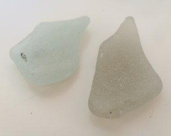 Large Frosted Sea Glass Pieces Beach Glass Seaglass Genuine Sea Glass Big White Beach Glass Jewelry & Craft Quality