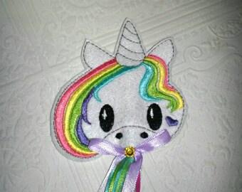 Unicorn Wand - Fairy Wand - Princess Wand - Girls Dress Up - Pretend Play - Toddler Xmas Gift - Stocking Stuffer - Gifts Under 15 - Costume