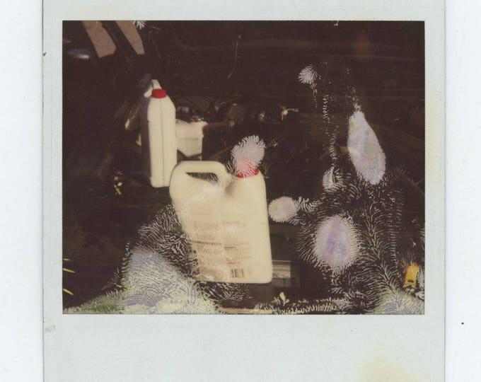 Anti-Freeze: Vintage Polaroid Snapshot Photo [81644]