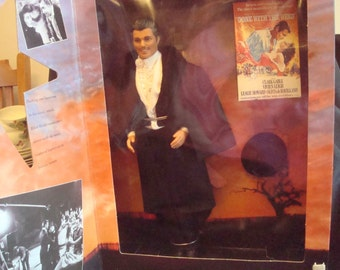 Ken as Rhett Butler from Gone with the Wind doll, Rhett Butler collectible, Gone with the Wind collectible, original box never used