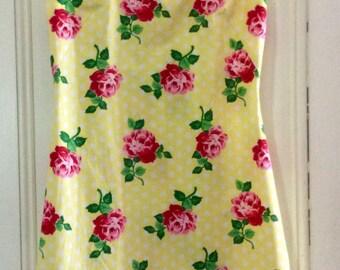Retro Florals Lucy shift dress