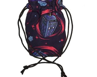 Dice Bag - Dr. Who - Ditty Bag w/ Drawstring