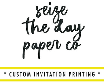 Custom Invitation Printing, Print My Invitations Please, Professional Printing!