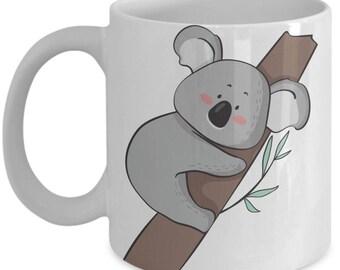 Adorable Koala in Tree Mug