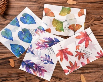 Flora Translucent watercolour Flora Envelope // Letter Envelopes // Vellum Envelope // Letter Writing Envelopes