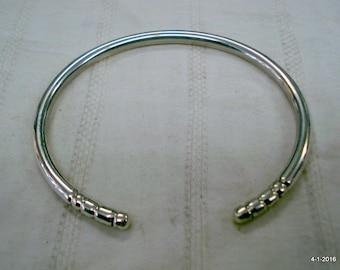 ethnic tribal silver bracelet cuff bangle sterling silver jewellery