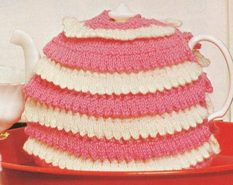 Vintage Knit Tea Cozy Pattern