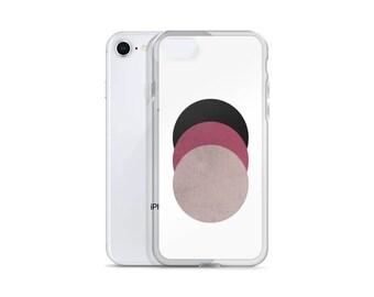 Girly iPhone Case Geometric, iPhone X Case, iPhone 8 Case, iPhone 7 Case, iPhone 7 Plus, iPhone 6 Case, iPhone 6S Case, iPhone 8 Plus Case