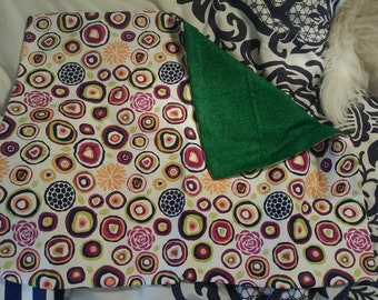 Small Scented Pet Pillow with circles and swirls