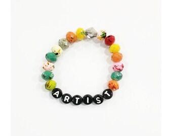 Artist child bracelet