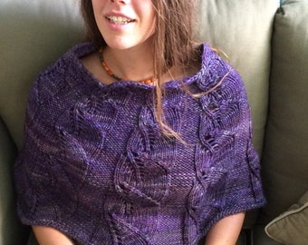 knitting pattern pdf digital download Capelet of Good Hope