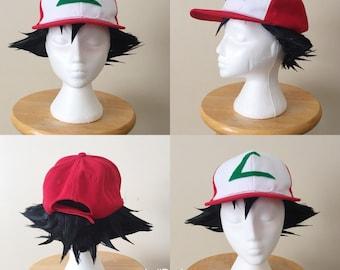 Ash/Satoshi Cosplay Wig