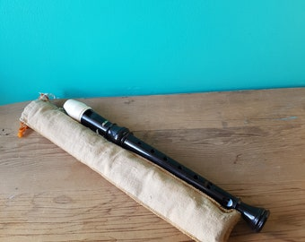 Aulos 203 Soprano Recorder - Made in Japan