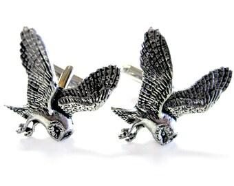 Flying Owl Cufflinks