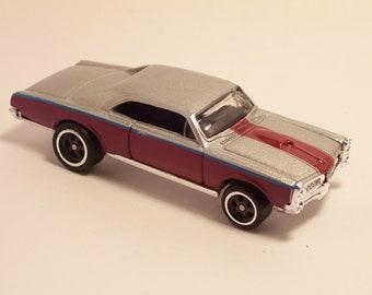1967 Pontiac GTO - Vintage Die Cast Car, 1/64th scale by Hot Wheels
