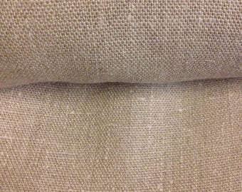 100% natural color linen upholstery fabric