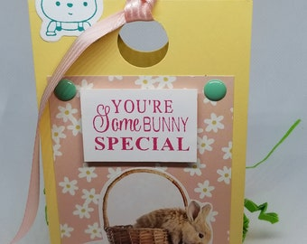 Easter Treat Box-Light Yellow/Pink