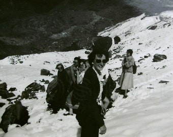 Vintage Photo - In the Snow