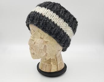 Hand Knit Headband, Ear Warmer, Winter Accessory, Wide Headband, Gift For Women, Winter Headband, Head Warmer, Striped Headband