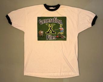 Generation X-Files - Vintage T-Shirt X-Large