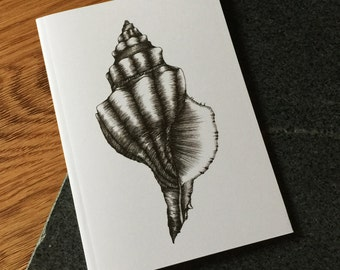 Conch Shell Notebook