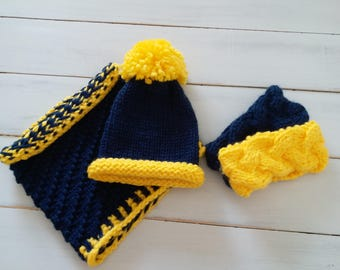 Cowl- Snood - Infinity scarf - women cowl - knit cowl - knit snood - knit scarf - circle scarf - neck warmer- knitted hat - ear warmer