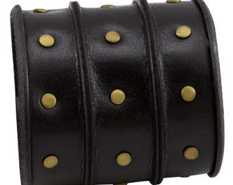Wide Black Bracelet, Bracelet, Leather Jewelry, Cuff Bracelet, Leather Bracelet, Bracelet Men, Mens Jewelry, Leather Bracelet Men