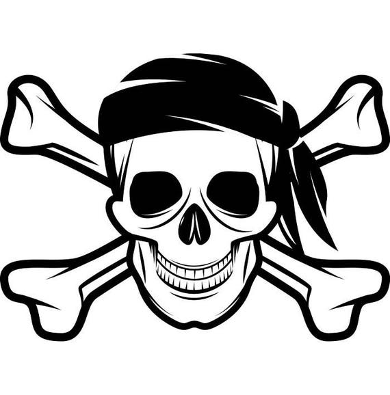 how to draw a pirate skull and crossbones