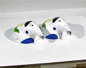 vintage Salt Pepper Shaker set Villeroy&Boch