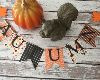 Autumn Banner - Home Decoration Banner - Fall Banner - Fall Color Banner - Home Decoration