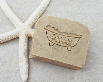 Kelp Sea Salt Soap - Seaweed Soap - Handmade Soap - Homemade Soap - Natural Soap - Organic Soap - Spa Gift - Dead Sea Soap - Bar Soap
