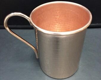 16oz Moscow Mule Hammered Copper Mug