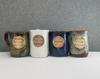 IN STOCK* Ceramic Mugs - Handmade Pottery Mug - Porcelain/Stoneware - Equality - Pride - Mug
