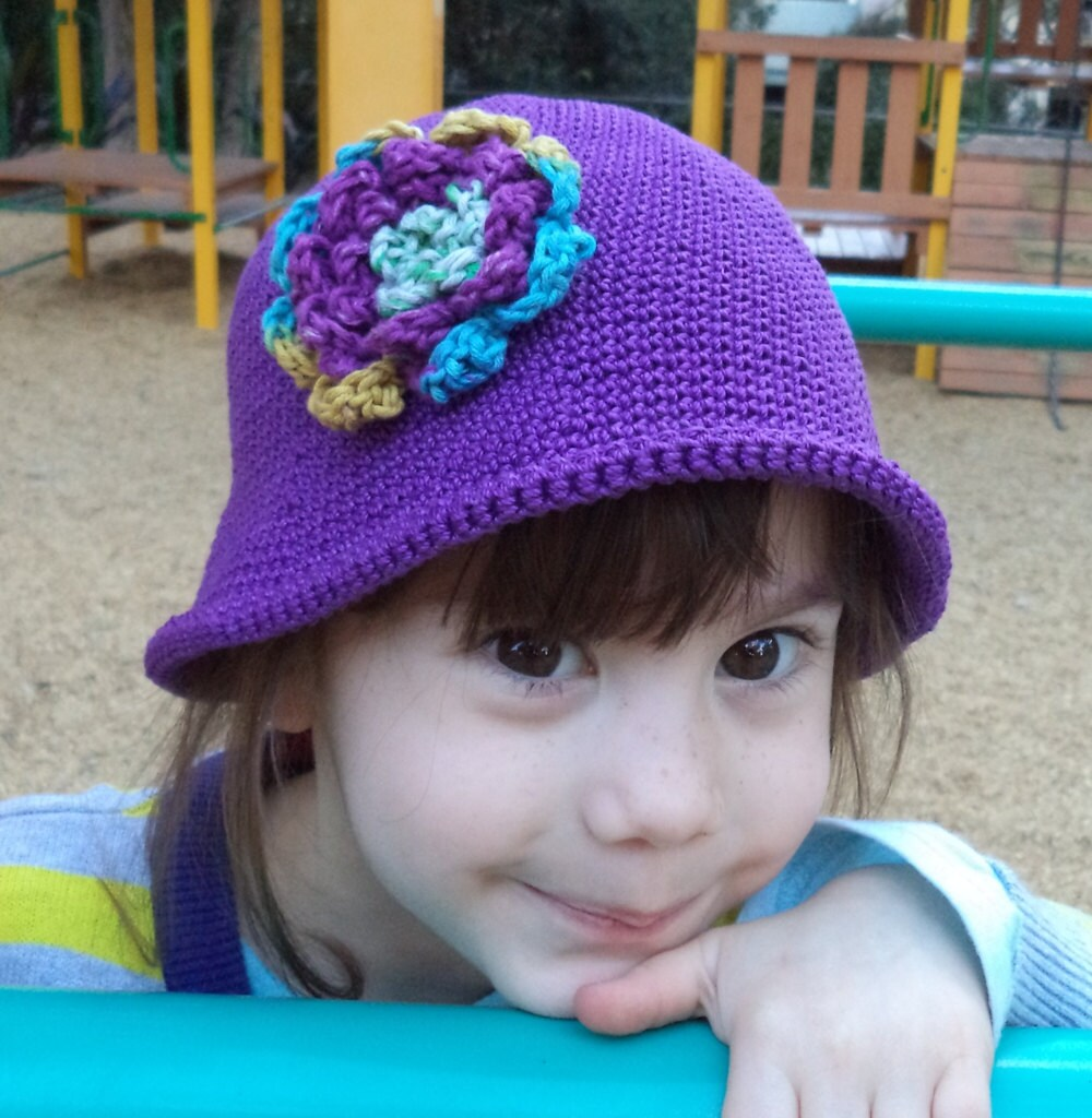 Crochet PATTERN Crochet hat pattern for young children using