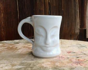 Smiling face mug