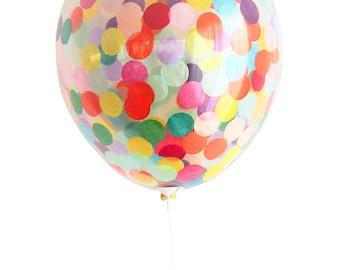 Confetti balloon Larger 40cm Party Decoration