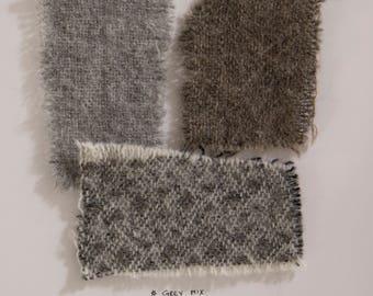 Fabric Samples SET 3 | wool mix
