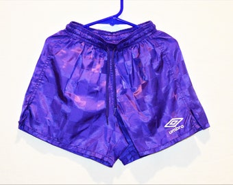 Girl's Purple Umbro 100% Nylon Soccer Shorts Size XX-Small 4-5 Childrens' Clothing Girl's Clothing Boy's Clothing ChooseFlavor