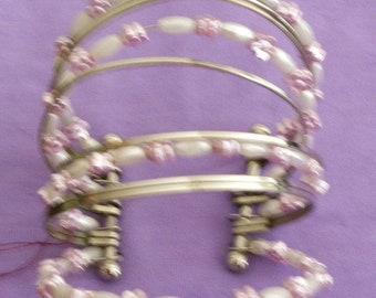 Multi Strand Clamp Bracelet