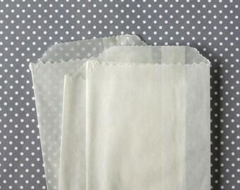 "Small Glassine Bags - 4.25 x 2.75"" - Party Favor Bag / Goody Bag (25)"
